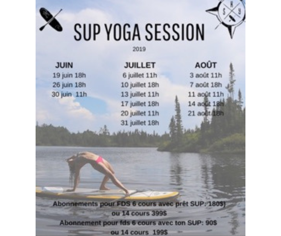 Sessions SUP Yoga 2019