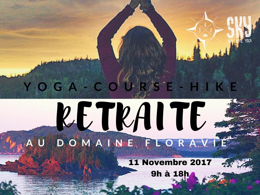 Retraite Yoga-Course-Hike