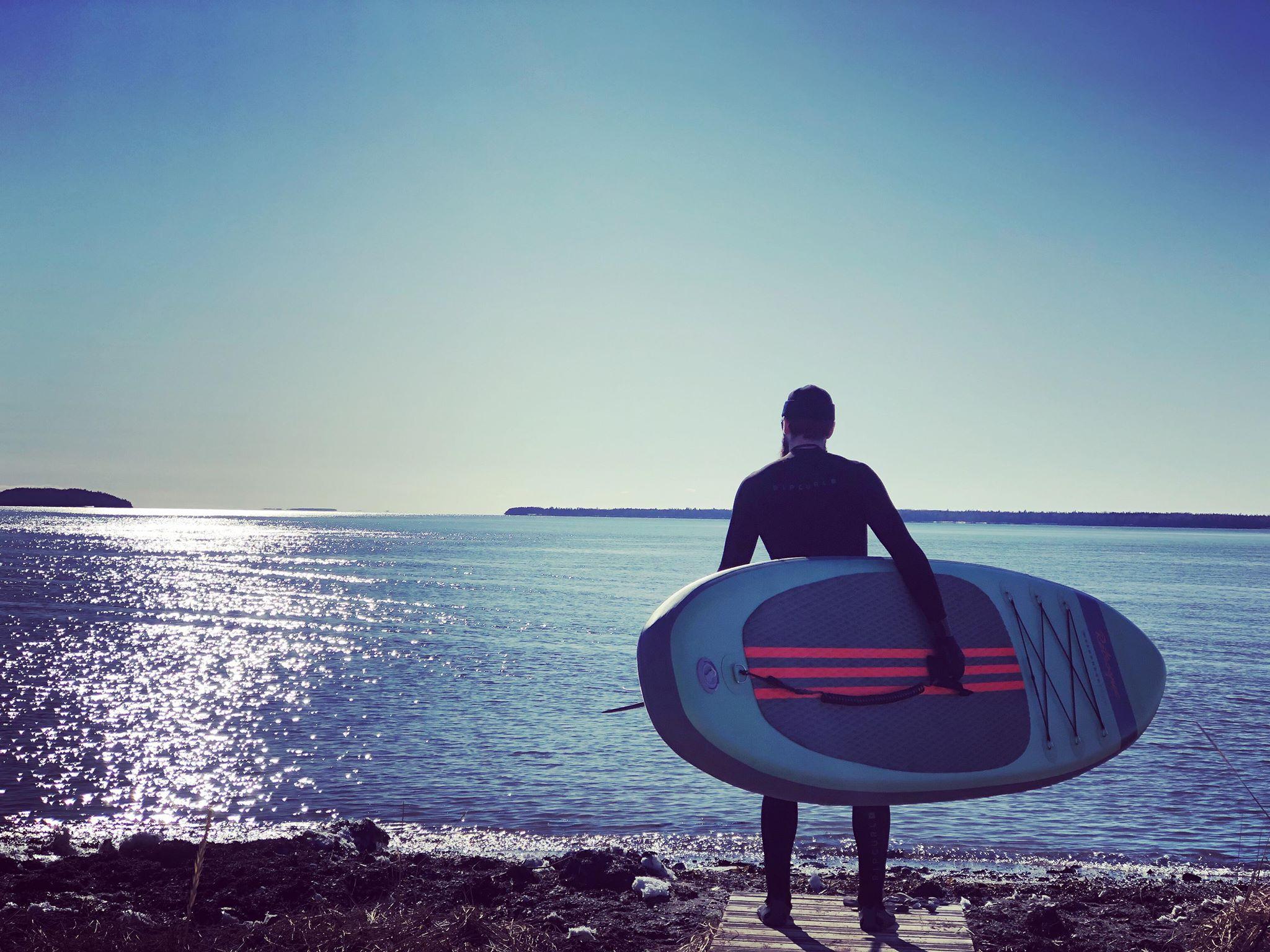 Location Paddle Board